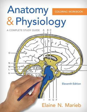 Cover of Anatomy and Physiology Coloring Workbook