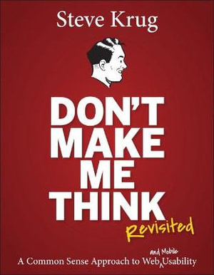 Cover of Don't Make Me Think, Revisited