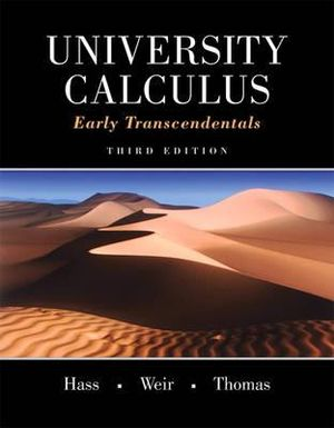 Cover of University Calculus