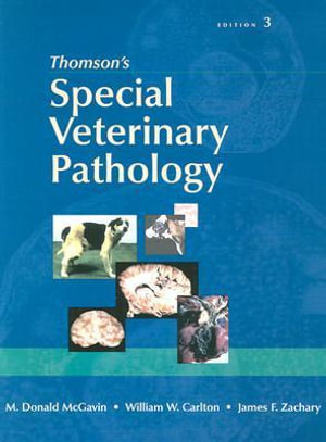 Cover of Thomson's Special Veterinary Pathology