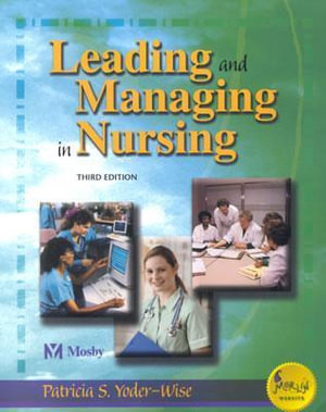 Cover of Leading and managing in nursing