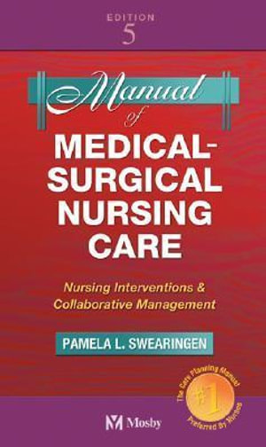 Cover of Manual of Medical-surgical Nursing Care