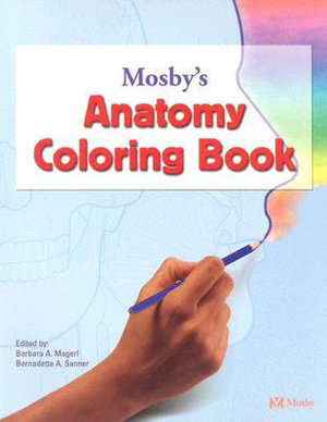 Cover of Mosby's Anatomy Coloring Book