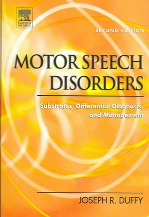 Cover of Motor Speech Disorders