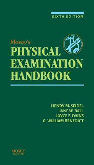 Cover of Mosby's Guide to Physical Examination
