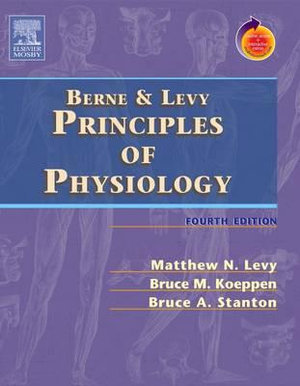 Cover of Principles of Physiology, 4th ed