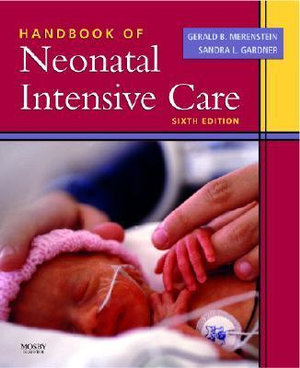 Cover of Handbook of Neonatal Intensive Care