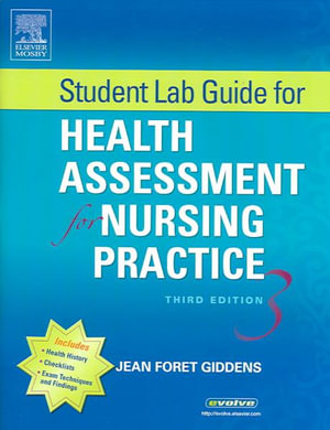 Cover of Student Lab Guide for Health Assessment for Nursing Practice