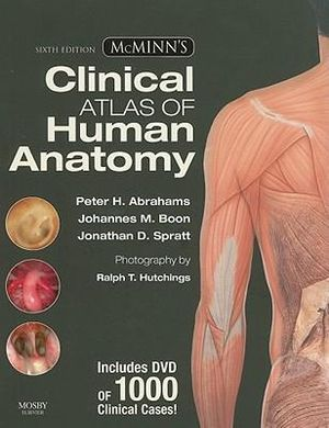 Cover of McMinn's Clinical Atlas of Human Anatomy