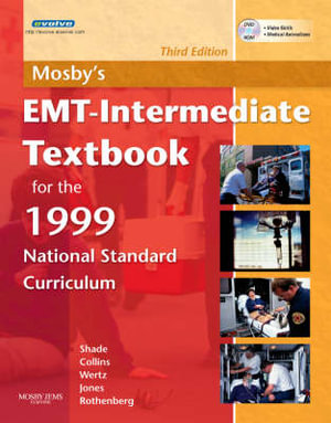 Cover of Mosby's EMT-intermediate Textbook for the 1999 National Standard Curriculum