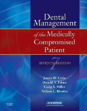 Cover of Dental Management of the Medically Compromised Patient