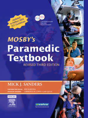 Cover of Mosby's Paramedic Textbook