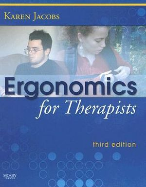 Cover of Ergonomics for Therapists
