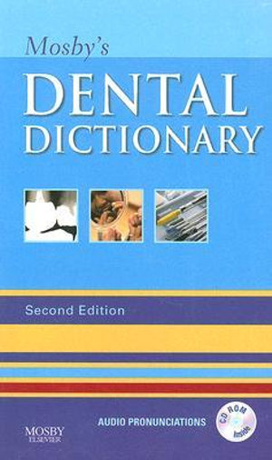Cover of Mosby's Dental Dictionary