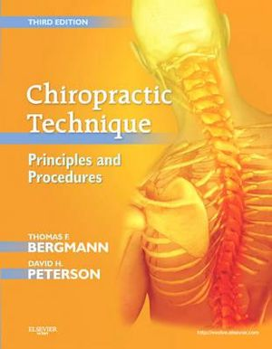 Cover of Chiropractic Technique: Principles and Procedures