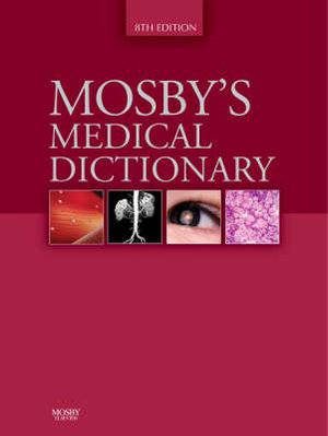 Cover of Mosby's Medical Dictionary