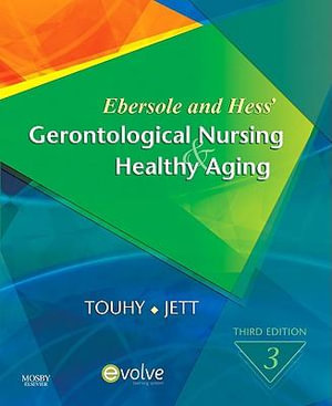 Cover of Ebersole and Hess' Gerontological Nursing and Healthy Aging