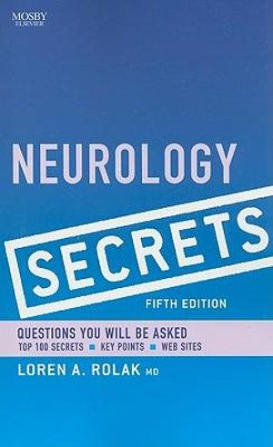 Cover of Neurology Secrets