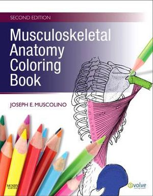 Cover of Musculoskeletal Anatomy Coloring Book