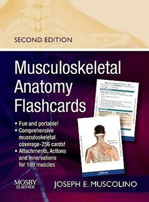 Cover of Musculoskeletal Anatomy Flashcards
