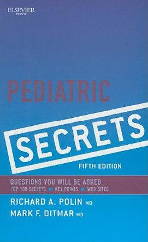 Cover of Pediatric Secrets