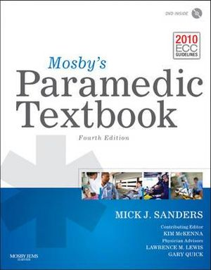 Cover of Mosby's Paramedic Textbook 4e