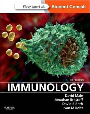 Cover of Immunology,With STUDENT CONSULT Online Access,8