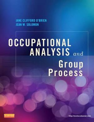 Cover of Occupational Analysis and Group Process1