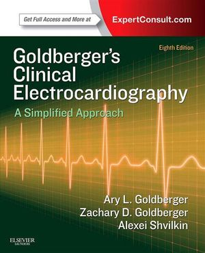 Cover of Clinical Electrocardiography: A Simplified Approach,Expert Consult: Online and Print,8