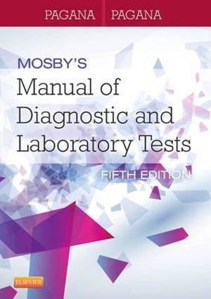 Cover of Mosby's Manual of Diagnostic and Laboratory Tests