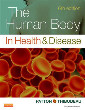 Cover of The Human Body in Health & Disease - Softcover6
