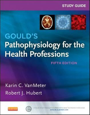 Cover of Study Guide for Gould's Pathophysiology for the Health Professions