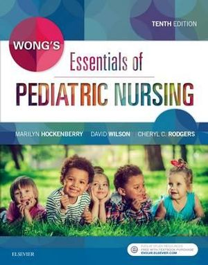 Cover of Wong's Essentials of Pediatric Nursing
