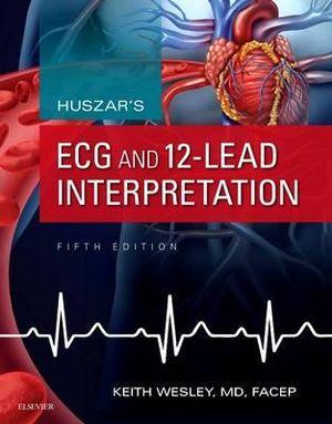 Cover of Huszar's ECG and 12-Lead Interpretation