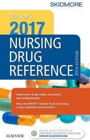 Cover of Mosby's 2017 Nursing Drug Reference