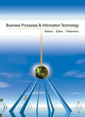 Cover of Business Processes and Information Technology