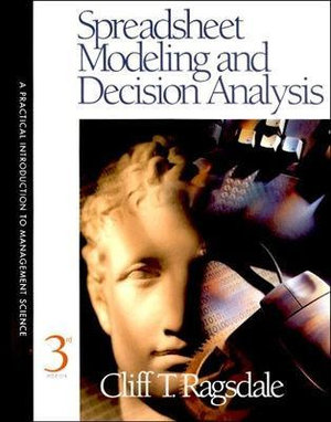 Cover of Spreadsheet modeling and decision analysis