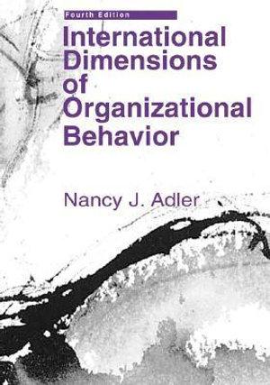 Cover of International dimensions of organizational behavior