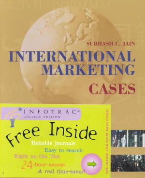 Cover of International marketing cases