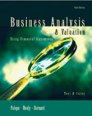 Cover of Business Analysis & Valuation Using Financial Statements
