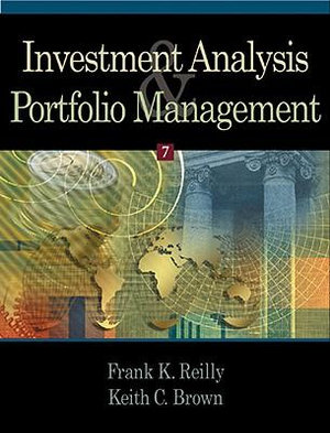Cover of Investment analysis and portfolio management, 7/e