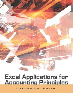 Cover of Excel Applications for Accounting Principles