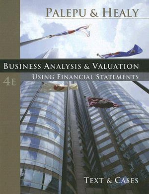 Cover of Business Analysis & Valuation