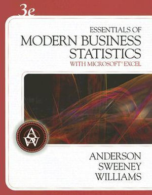 Cover of Essentials of Modern Business Statistics