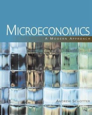 Cover of Microeconomics: A Modern Approach