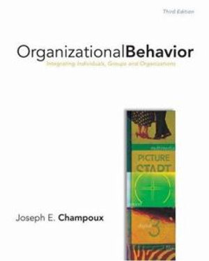 Cover of Organizational Behavior