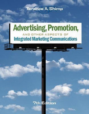 Cover of Advertising, Promotion, and Other Aspects of Integrated Marketing Communications