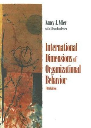 Cover of International Dimensions of Organizational Behavior