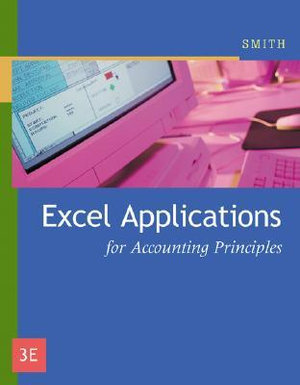 Cover of ExcelTM Applications for Accounting Principles