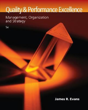 Cover of Quality and Performance Excellence